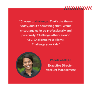 ExecOnline Celebrates International Women's Day - Quote from Paige Carter