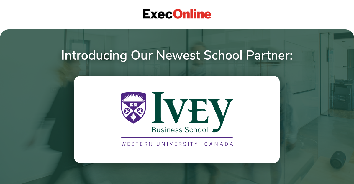 ExecOnline Partners with Ivey Business School